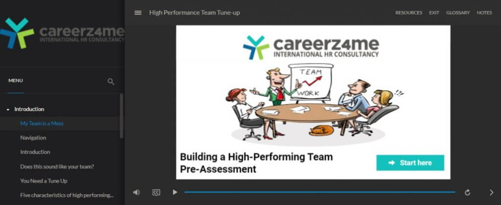 E-LEARNING: High Performance Team Tune- Up