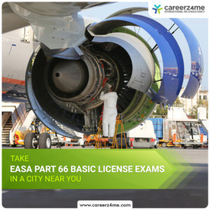 EASA Part 66 Cat B2 BASIC EXAMS – BENGALURU/ BANGALORE, INDIA