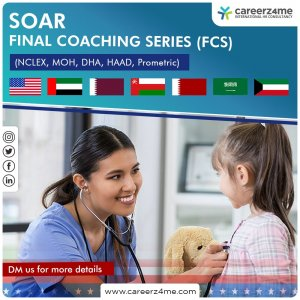 Strategic Online Adaptive Review (SOAR) for NCLEX, MOH, DHA, HAAD, Prometric – FINAL COACHING SERIES (FCS)