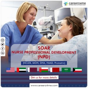 Strategic Online Adaptive Review (SOAR) for NCLEX, MOH, DHA, HAAD, Prometric-NURSE PROFESSIONAL DEVELOPMENT (NPD)