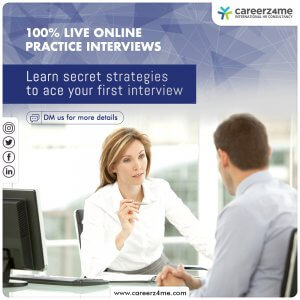 Practice Interviews- Freshers or First Job